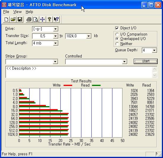 USB 외장하드 프론트패널 테스트